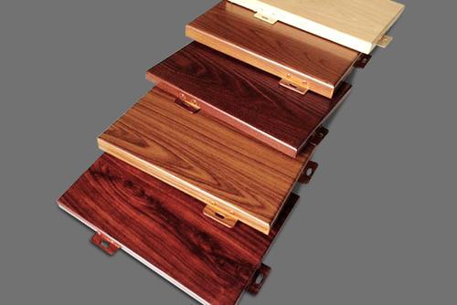 木纹铝单板与实木有很大区别
